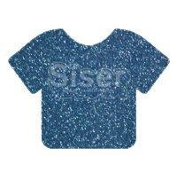 Siser HT Glitter- True  Blue 10x12
