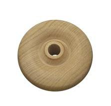 Wood Toy Wheels- 2-1/4 x 3/4 Wood Toy Wheels Hole Size 3/8