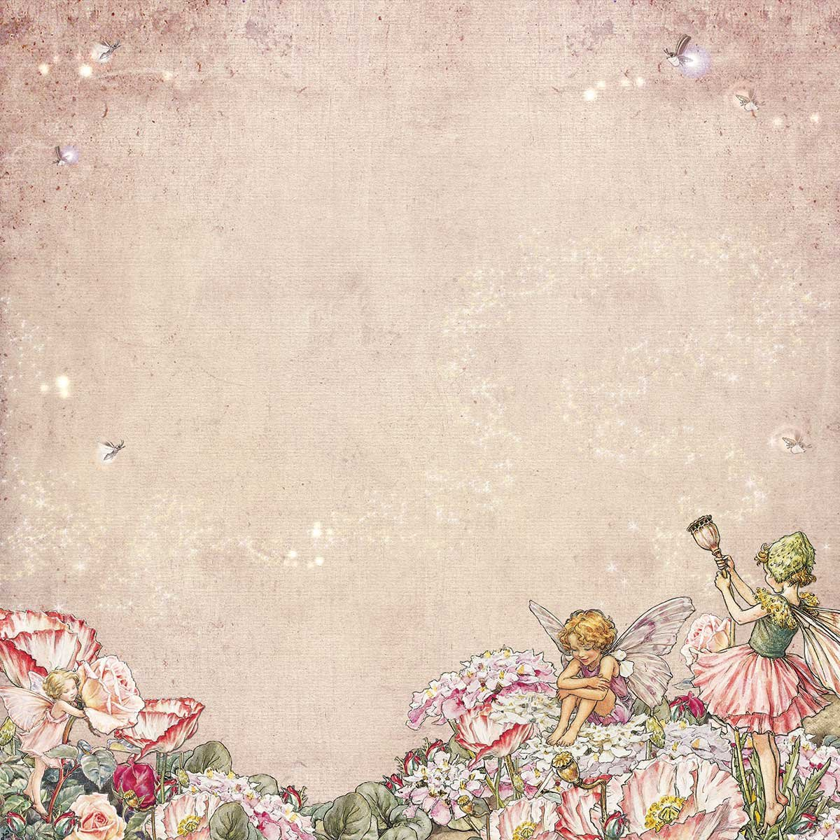 49 and Market Paper- Flower Fairies Looking Through: Twilight