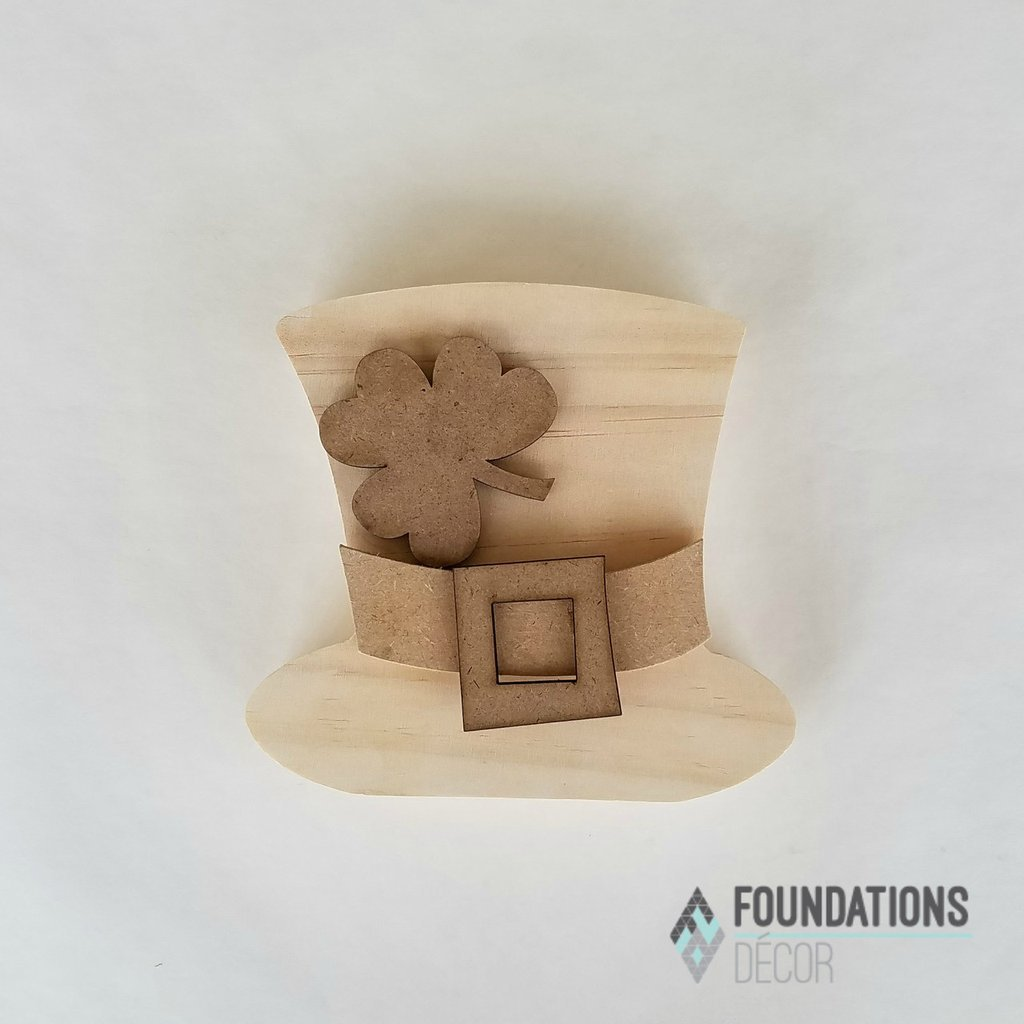 Foundations Decor- Home March O Leprechaun Hat