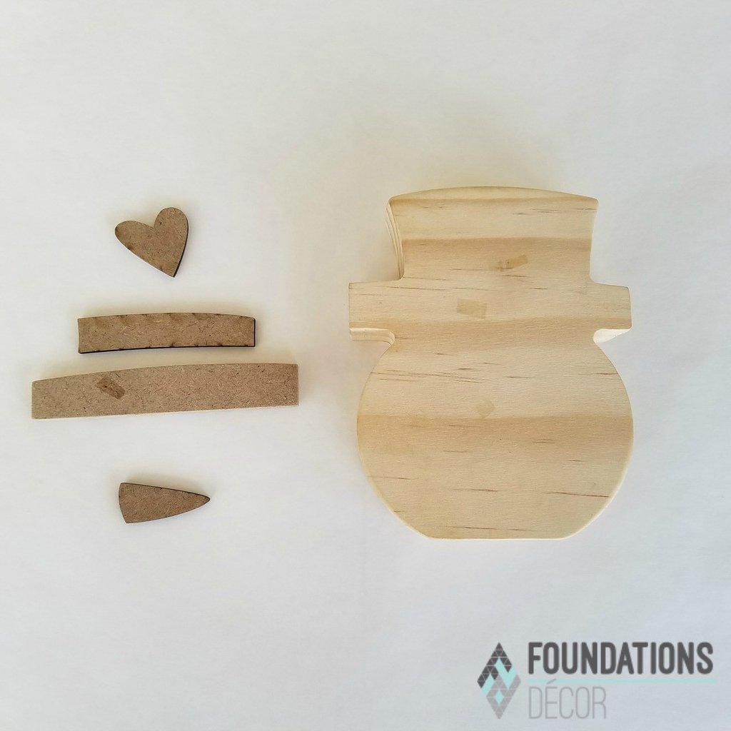 Foundations Decor- Home January O Snowman