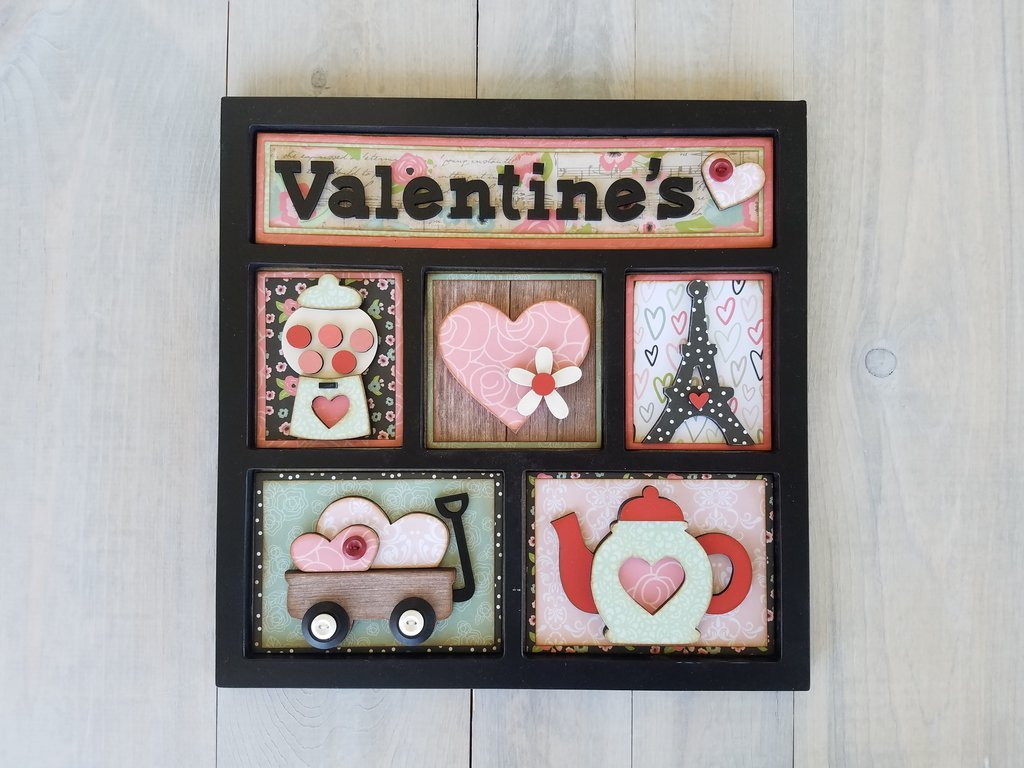 Shadow Box Kit- Valentine's