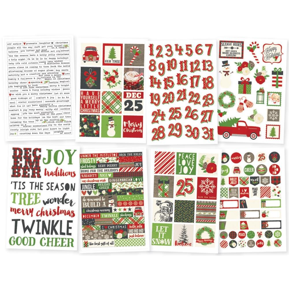 Simple Stories Very Merry 4X6 Stickers