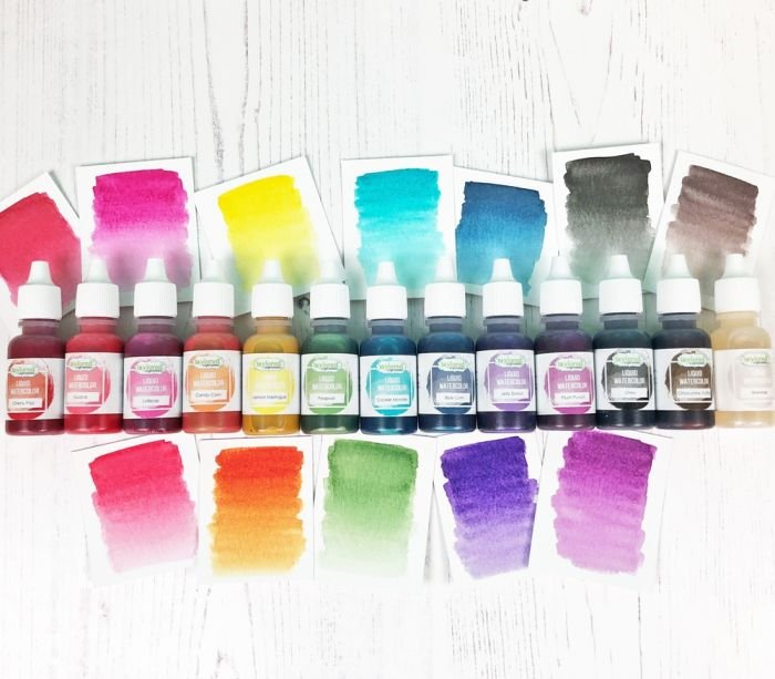 I WANT IT ALL - LIQUID WATERCOLOR COLLECTION by Taylored Expressions