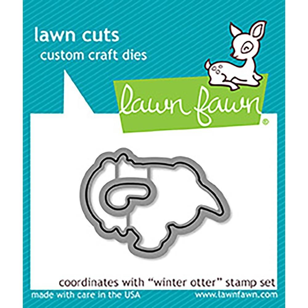 Lawn Fawn Lawn Cuts Die- Winter Otter