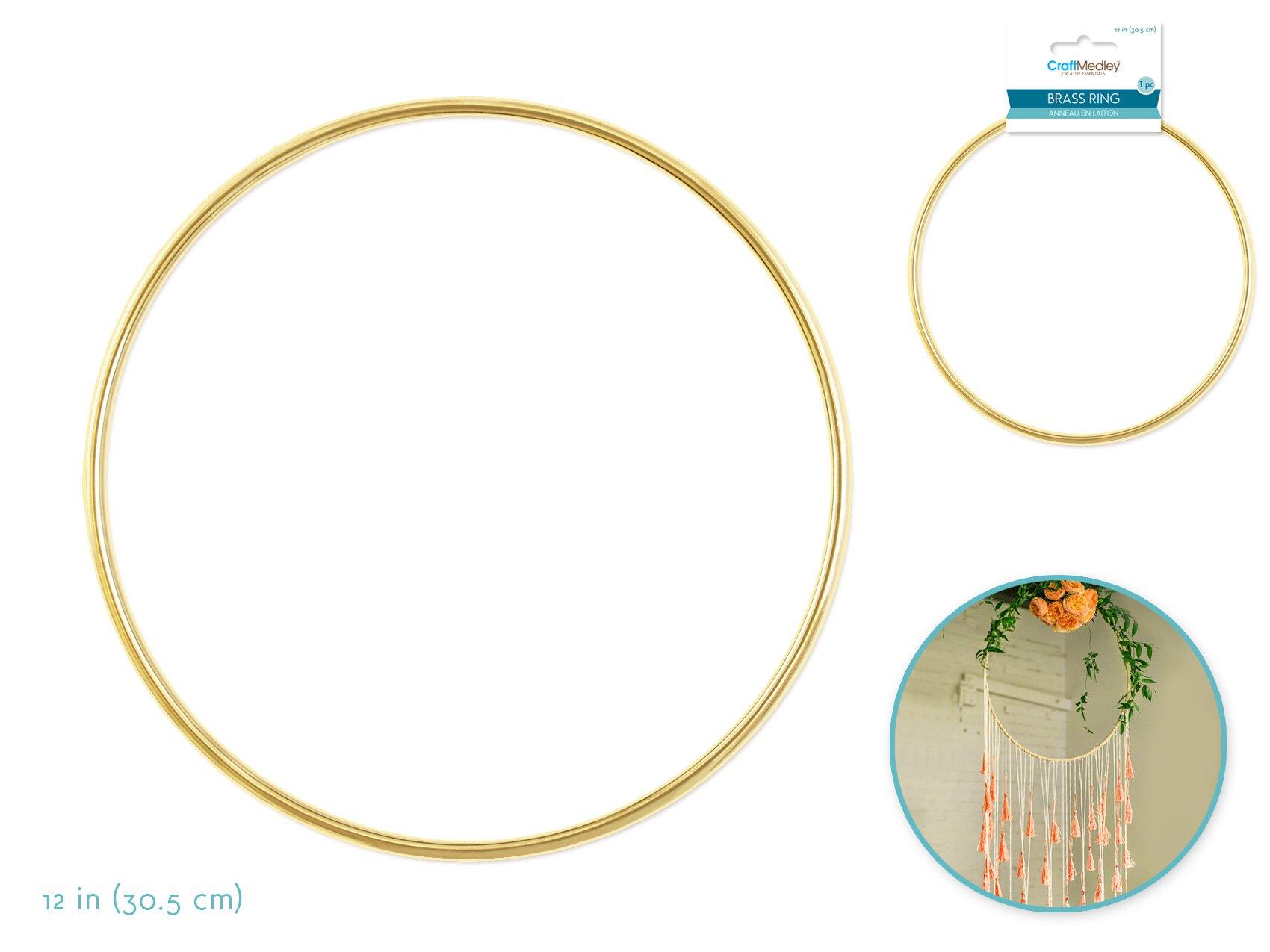 12 Brass Ring