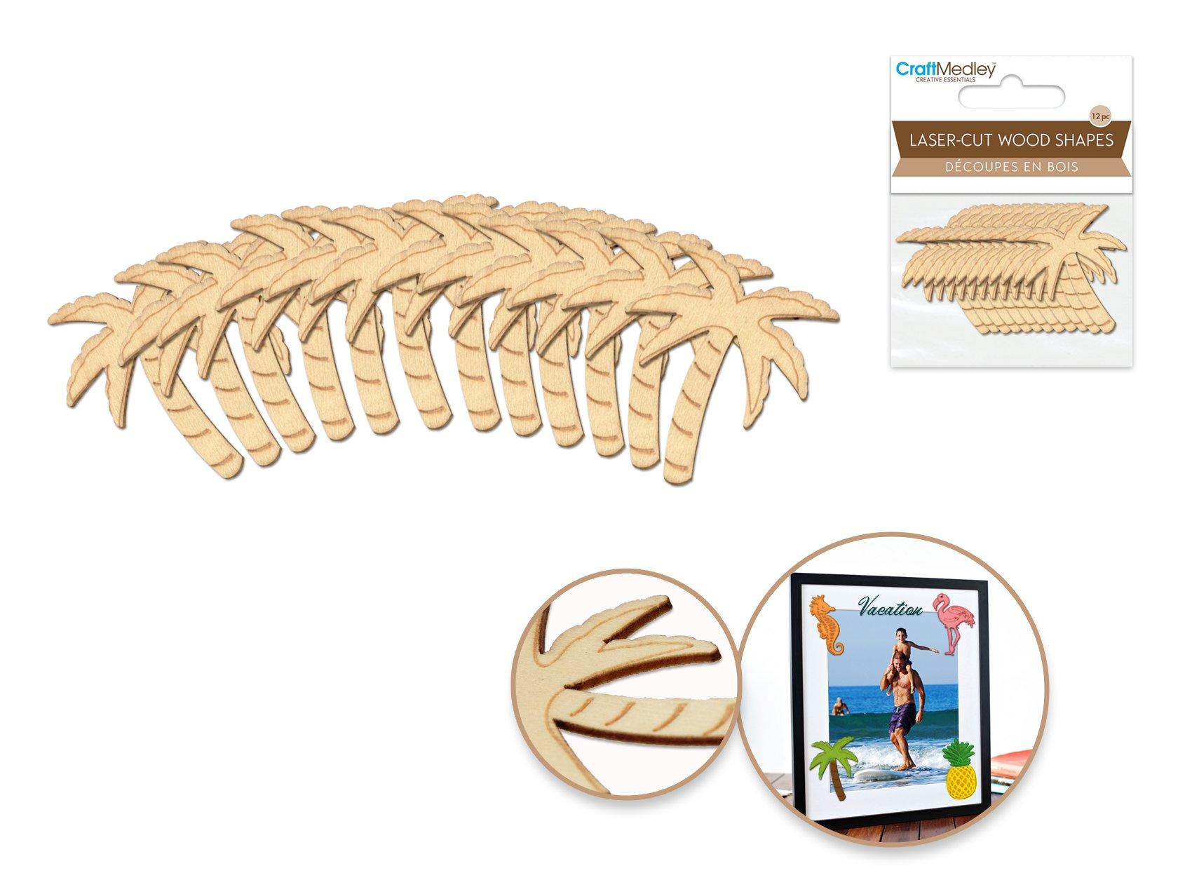 Palm Tree- Laser Cut Wood Shapes