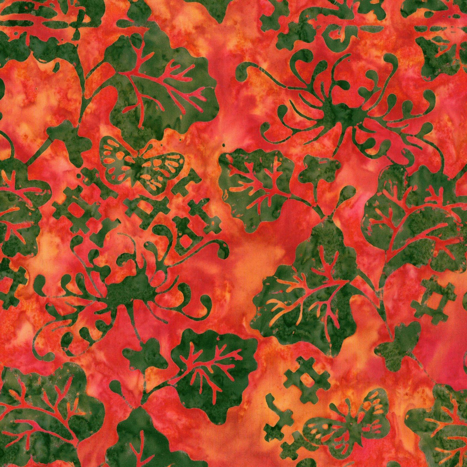 Floragraphics Batik III by In The Beginning