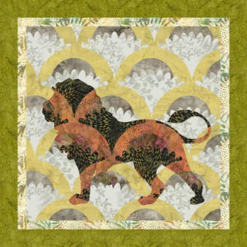 Jungle Cruise by Keith Phillips - Lion Pattern