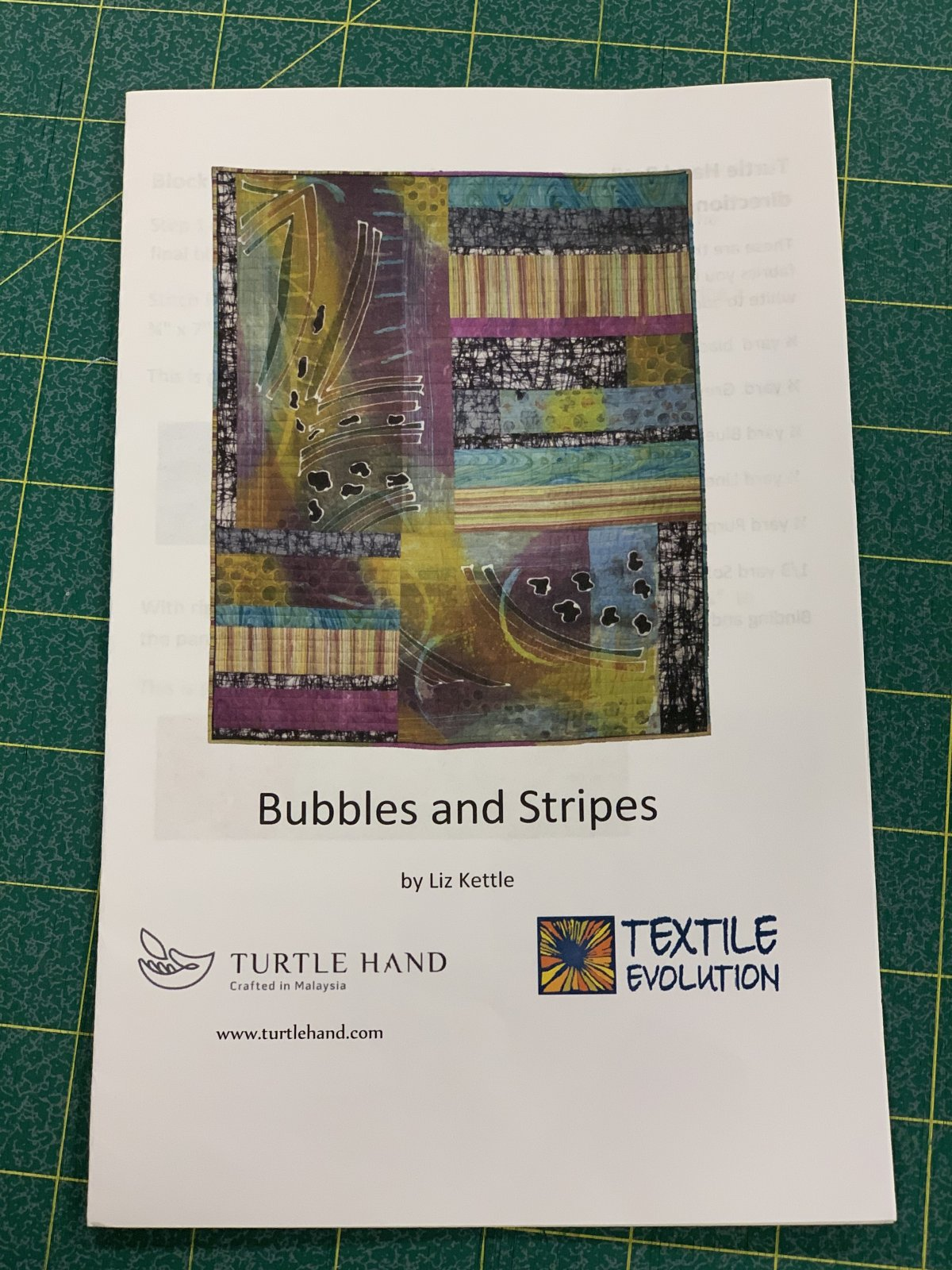 Bubbles and Stripes Pattern