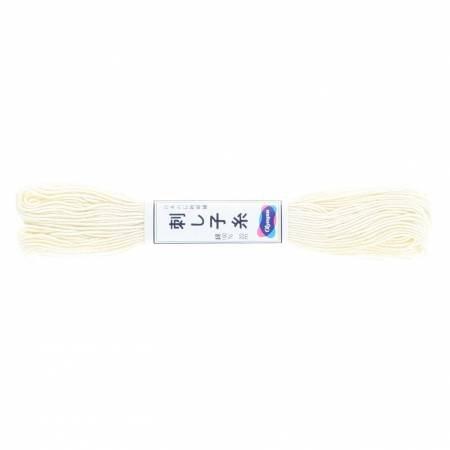 Olympus Sashiko Thread 22yd Off White