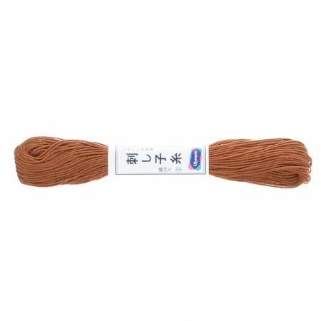 Olympus Sashiko Thread 22yd Brown