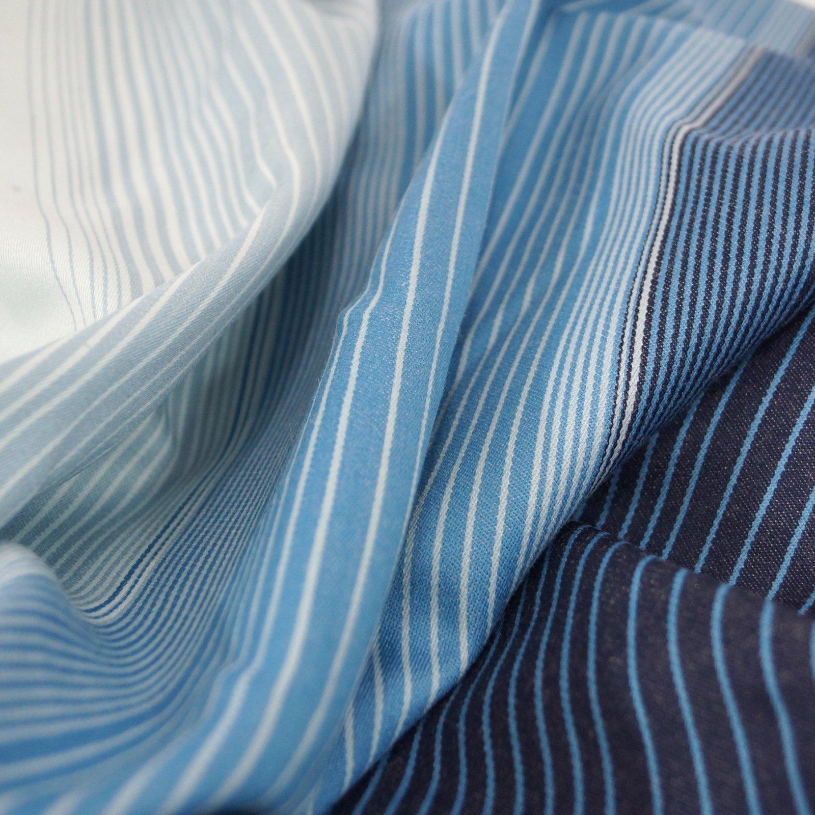 Wool - Italian Ombre Denim