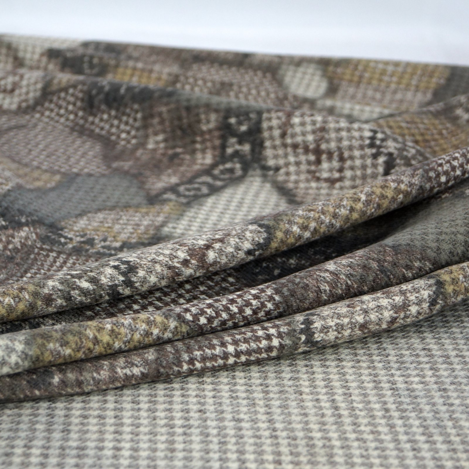 Wool - Gray, Olive, Taupe, Cream Double-Sided Italian Wool