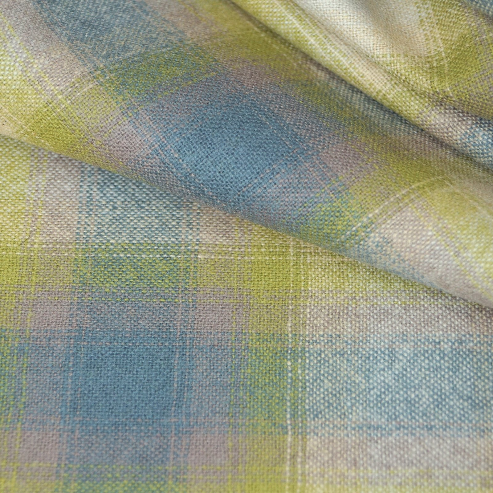Wool - Pendleton (TM) Cream, Blue, Lavender, and Green
