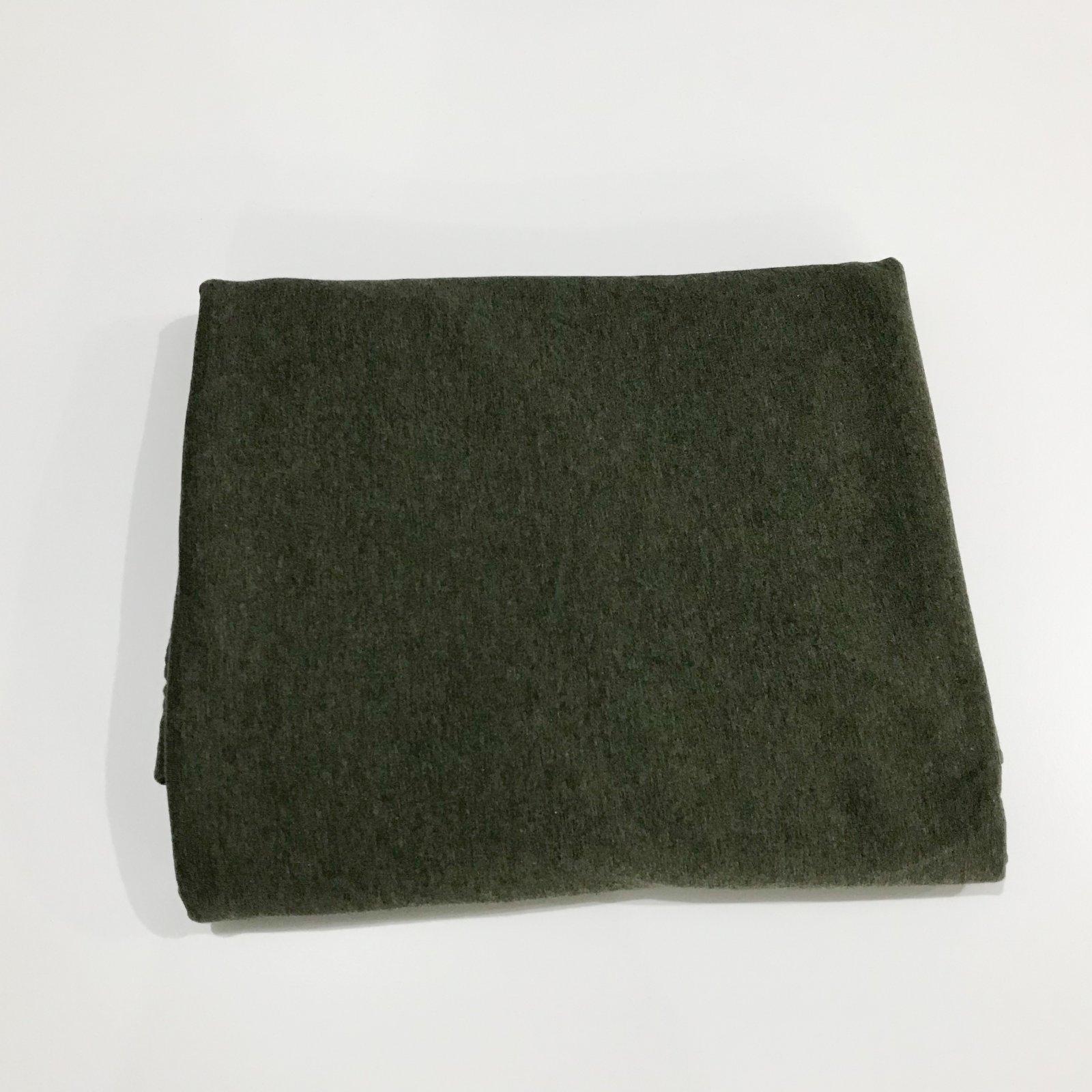 2 5/8 yards - Organic Cotton Jersey - Melange Moss