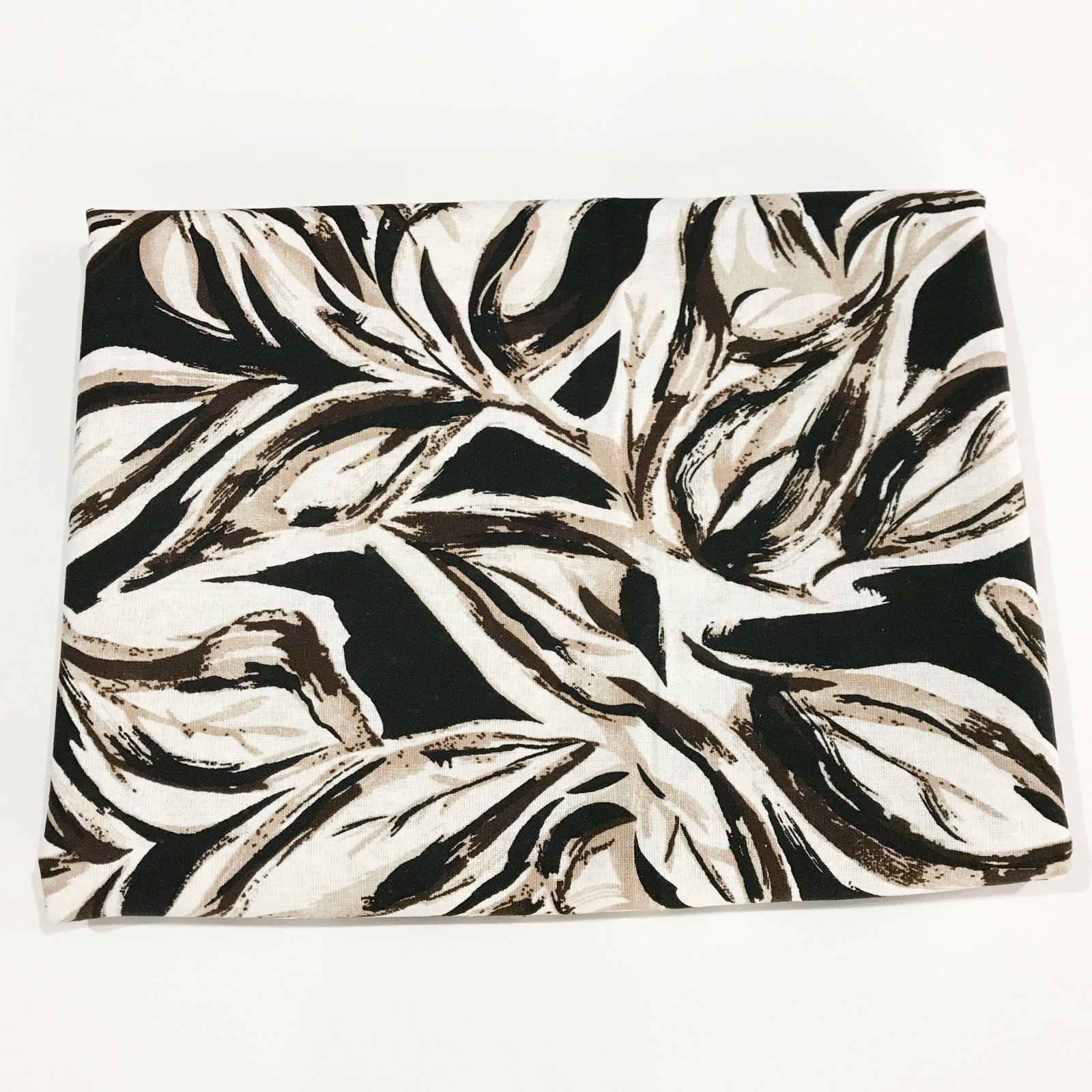 2 yards - Lady McElroy Viscose and Linen Blend - Woodland Foliage