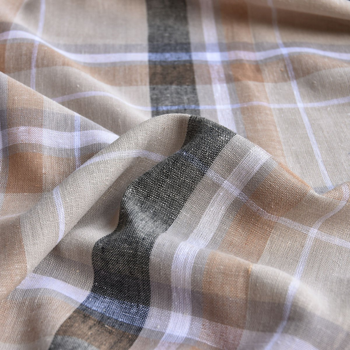 Linen - Neutral Plaid
