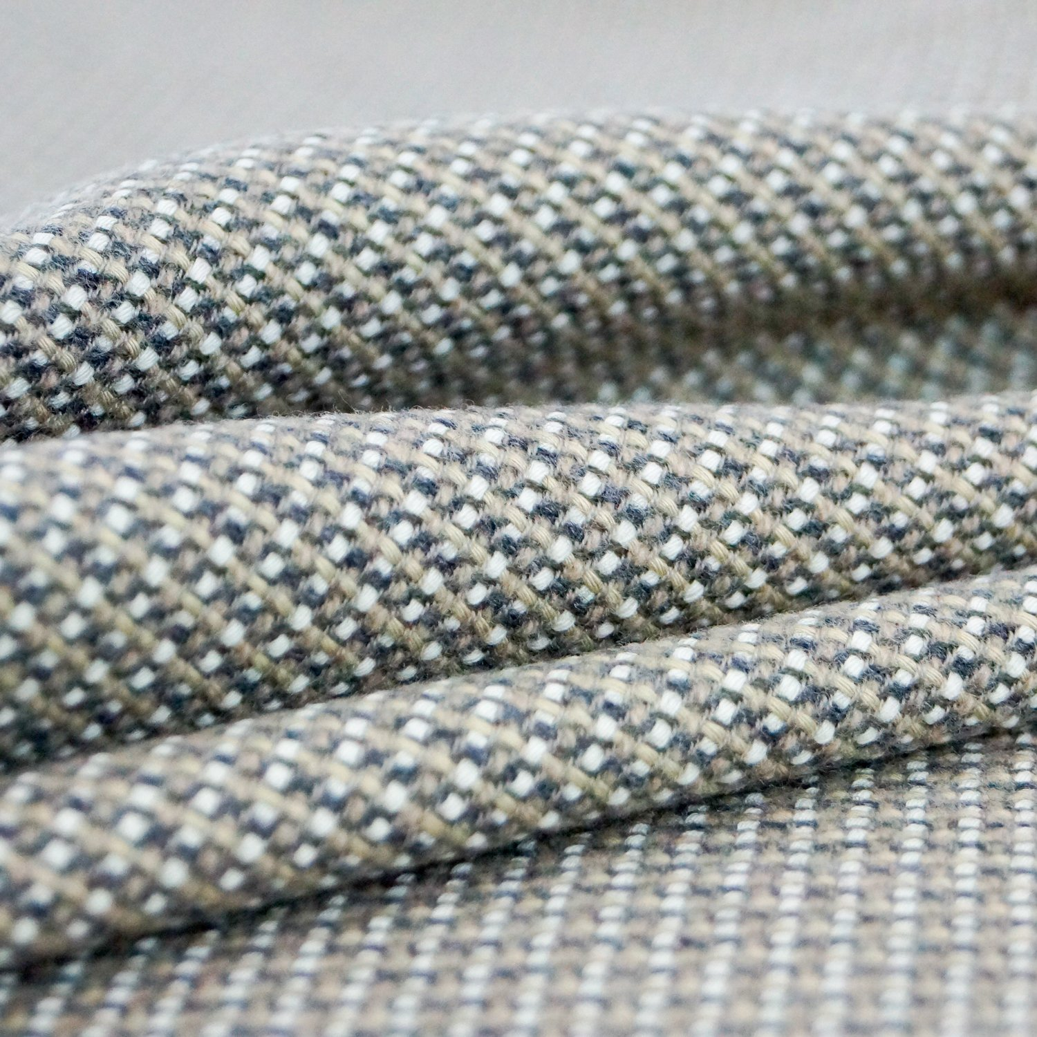 Wool - Taupe & Gray Italian Tweed