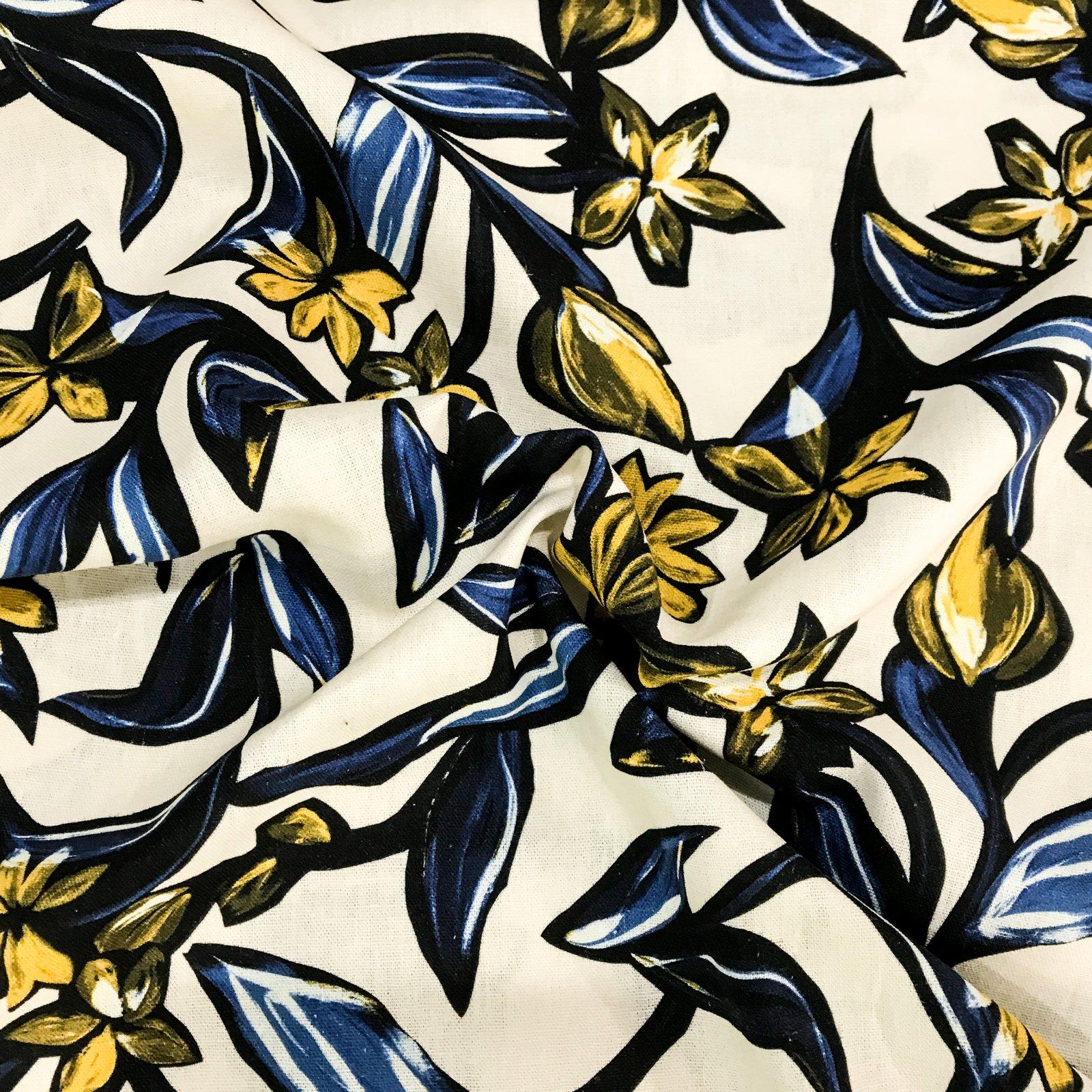 Lady McElroy - Viscose/Linen Blend - Dubai Floral