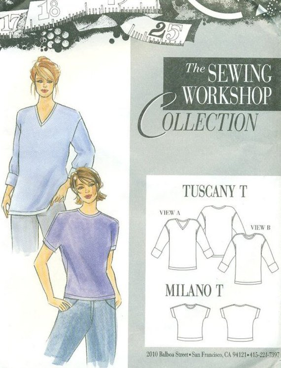 Sewing Workshop Collection Tuscany And Milano Ts