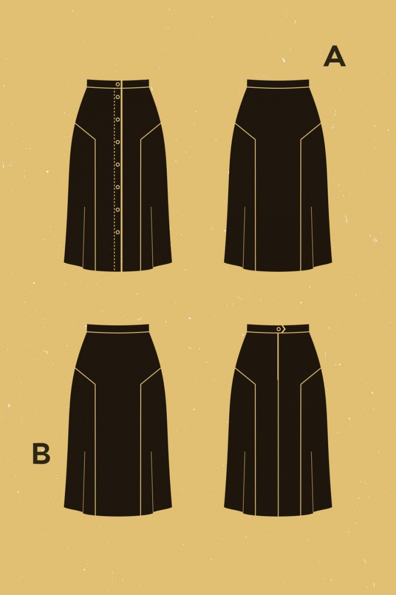 Deer and Doe - Azara Skirt