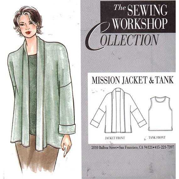 Sewing Workshop Collection Mission Jackt And Tank