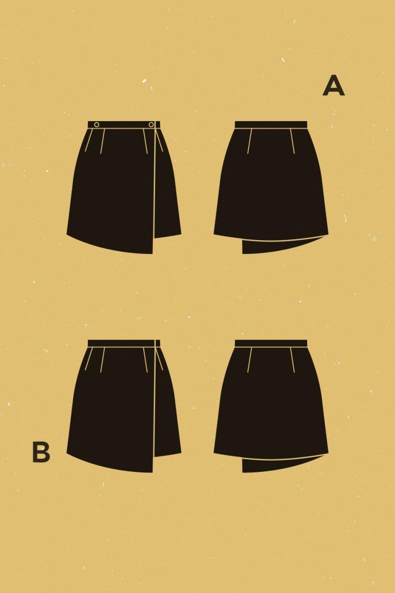 Deer and Doe - Agave Skirt