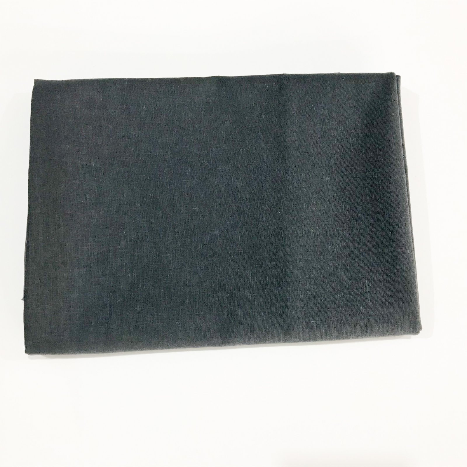 1 yard + 34 inches - Roma Stretch Linen - Charcoal