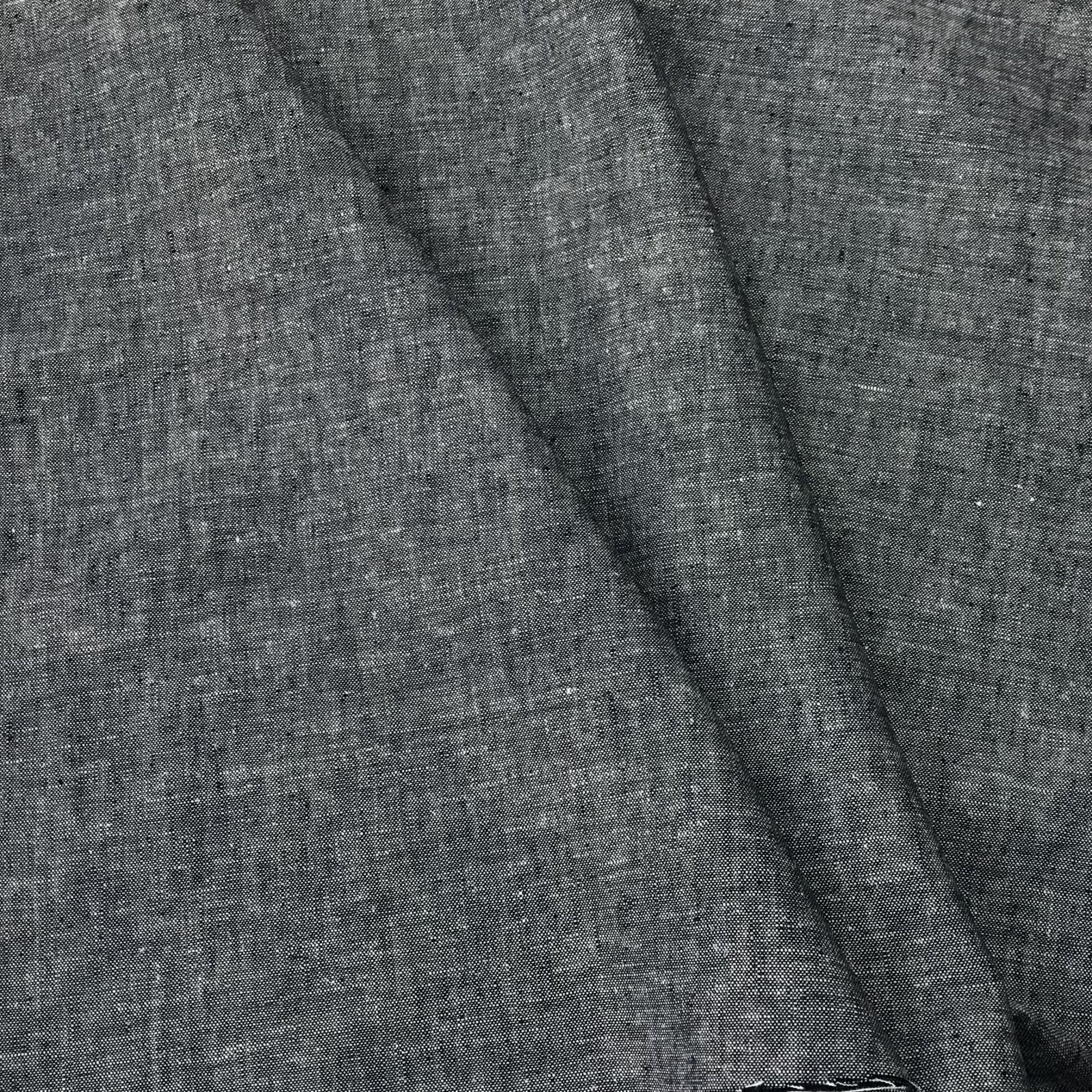 Linen/Rayon Yarn Dye - Denim