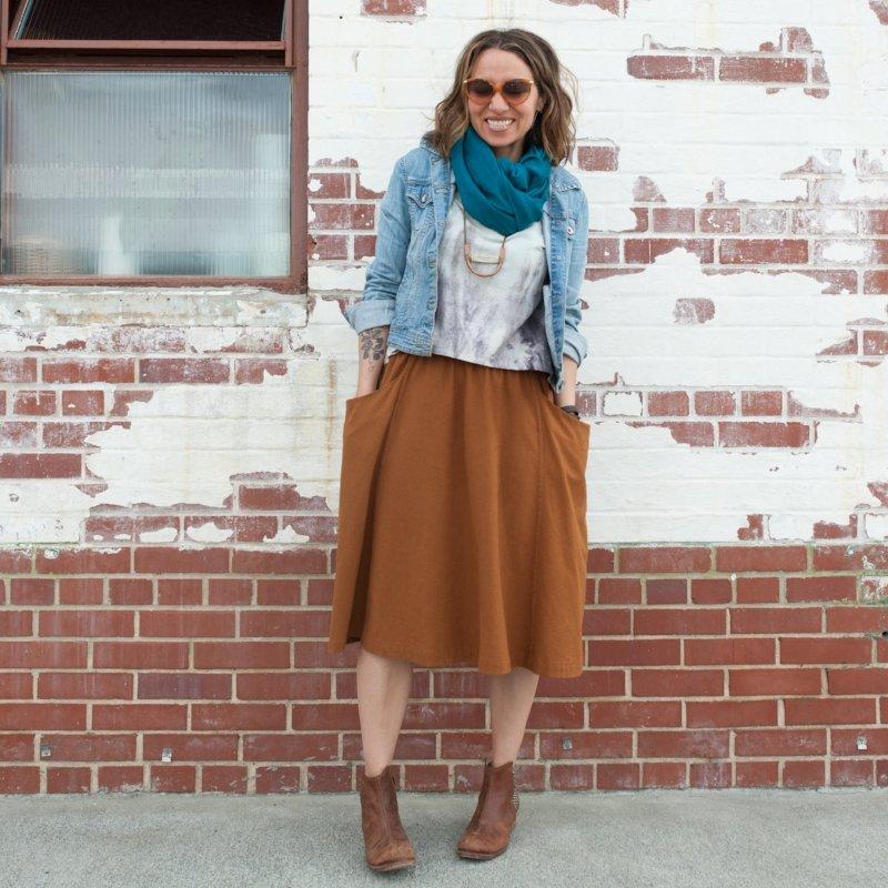 Sew Liberated - Gypsum Skirt