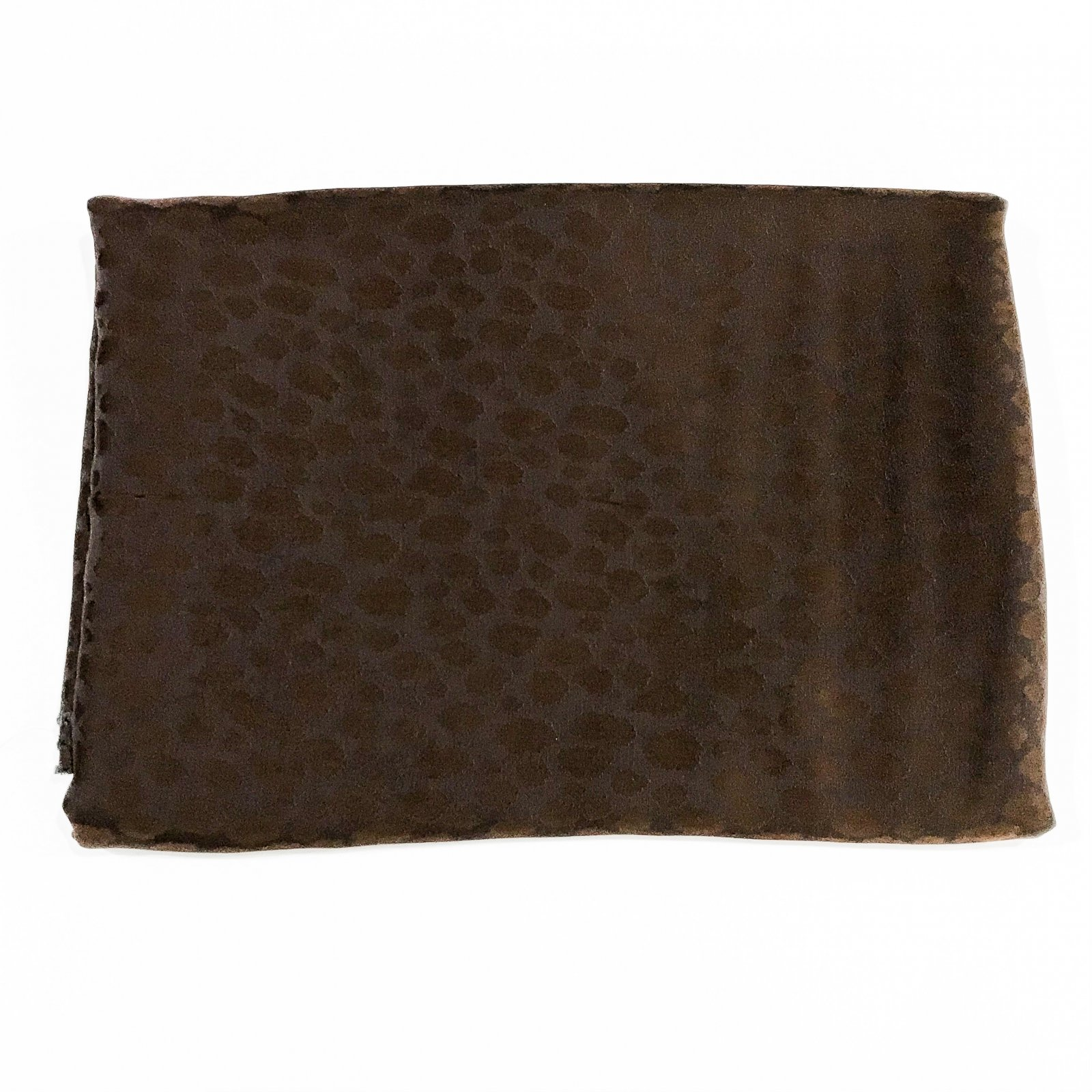 Viscose - Brown Animal Spots - 2 7/8 yards