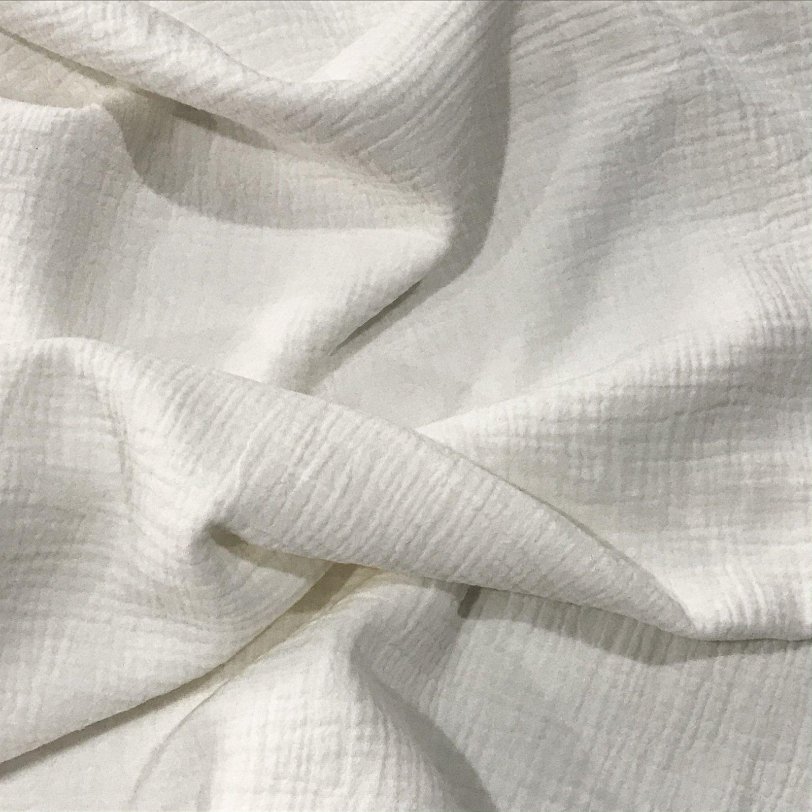 Cotton Double Gauze - Off White