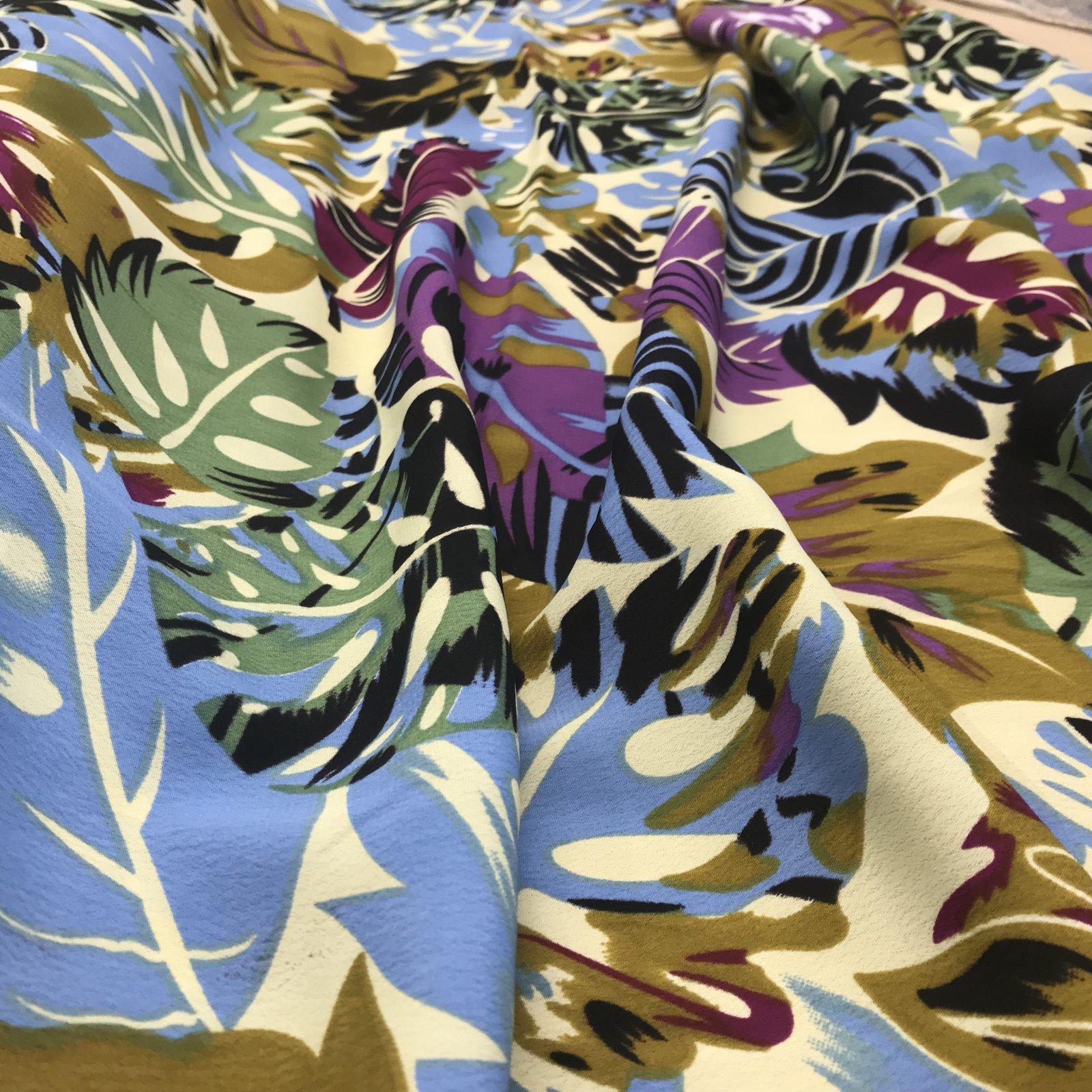 Rayon Crepe - Tropical Print