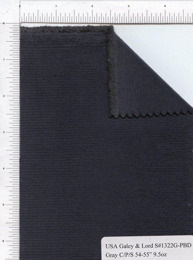 Corduroy-  Stretch Gray