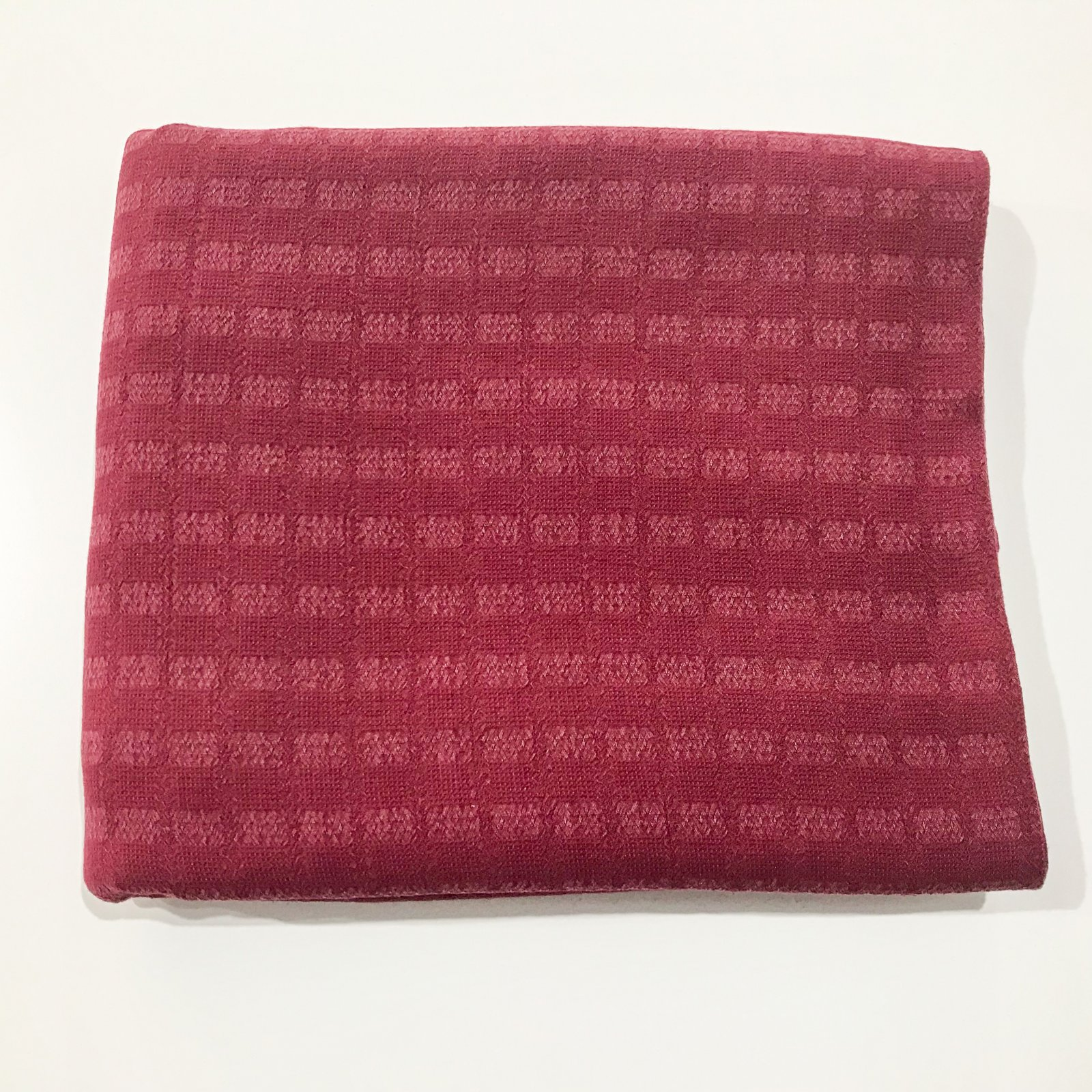 3 yard + 14 inches - Tencel Jacquard - Cranberry