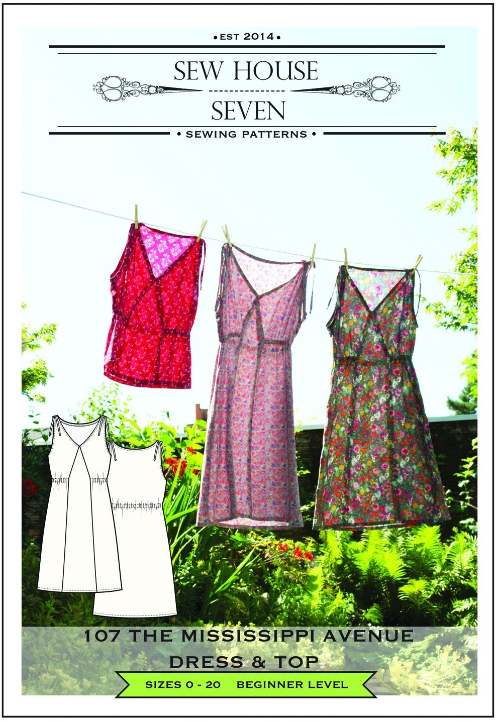 Sew House Seven - The Mississippi Avenue Dress and Top