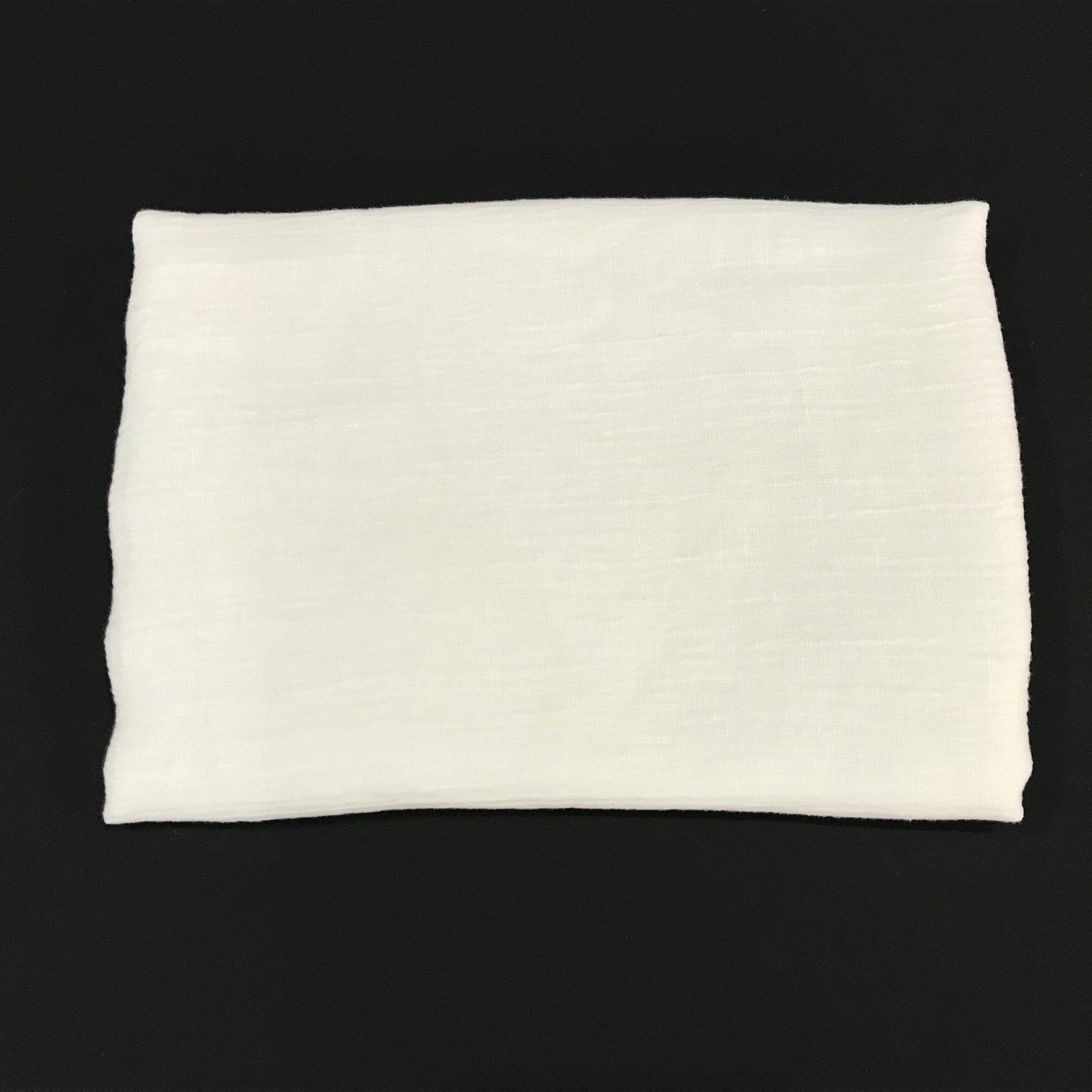 1 yard + 5 inches - Linen Gauze - Ivory