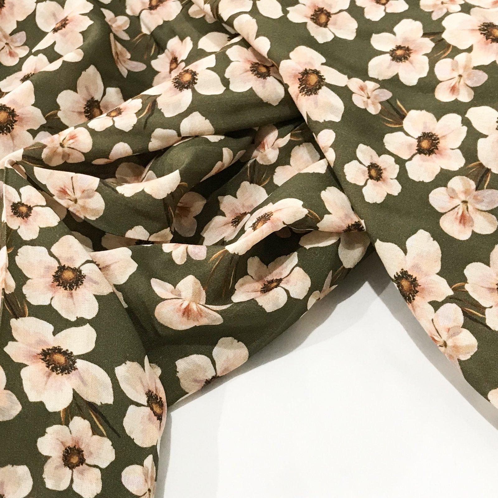 Viscose - Floral Chain - Fern