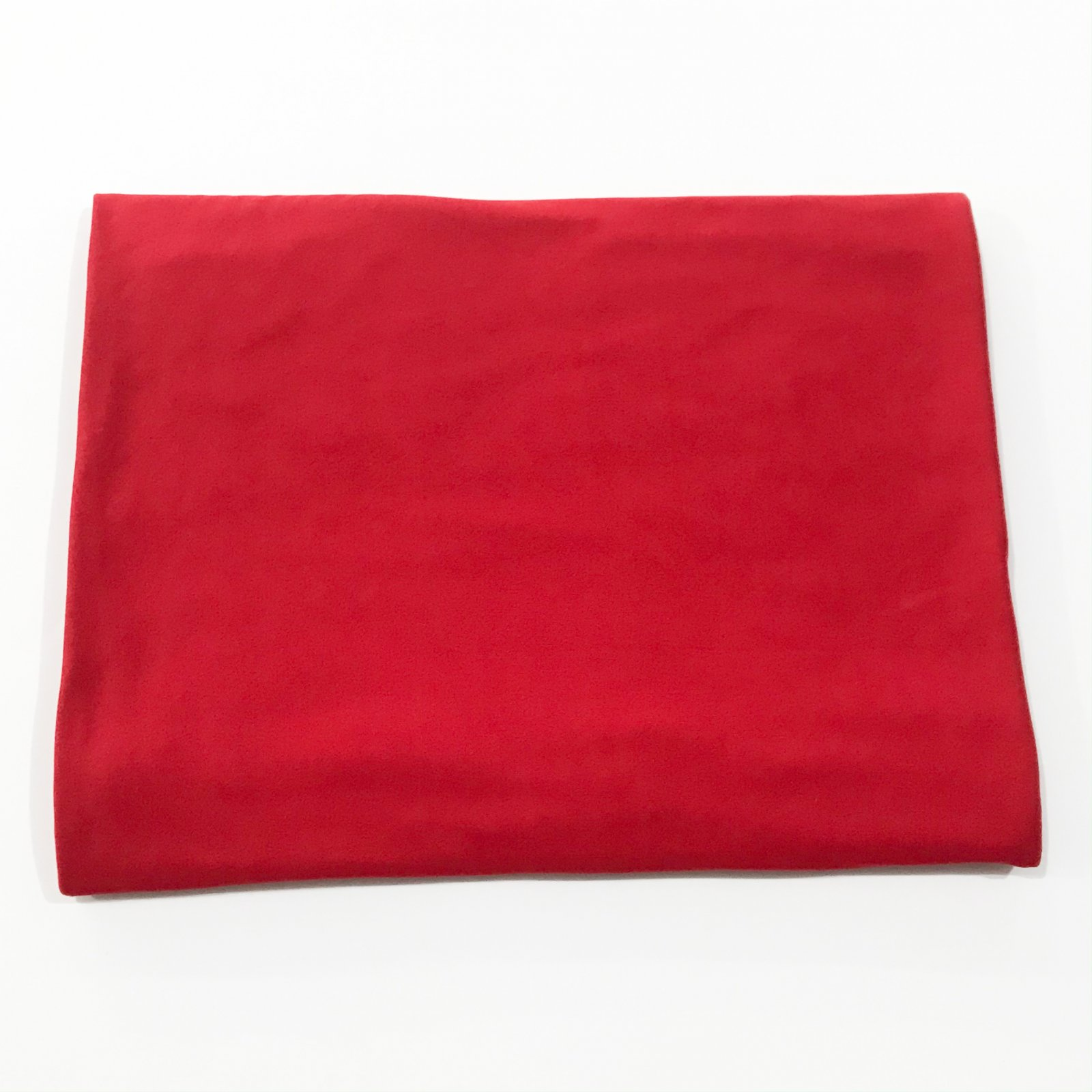 Solid Red Double Brushed Jersey - 1 1/2 yard