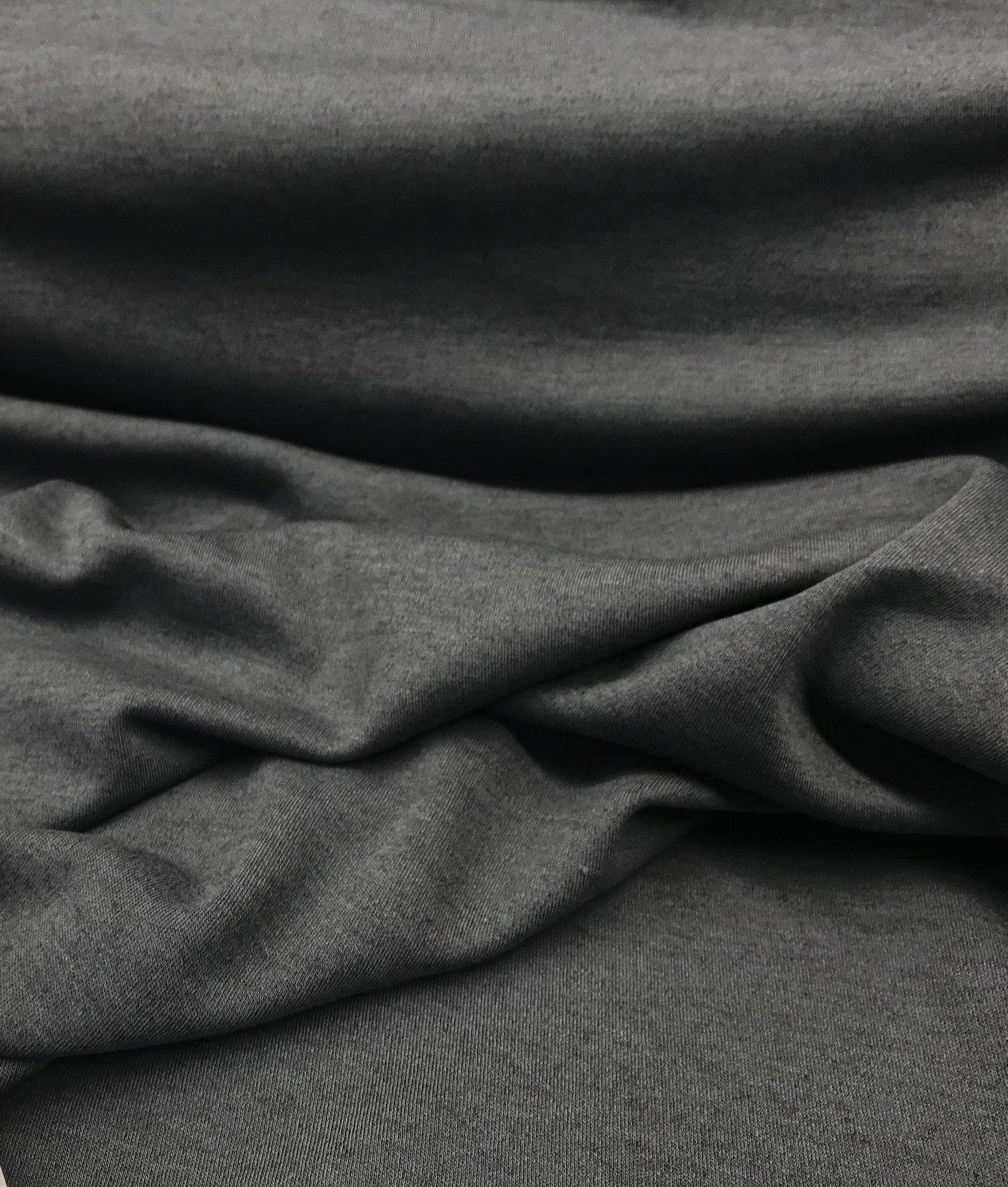 Merino Wool Knit - Charcoal Gray