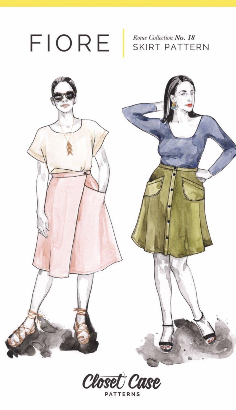 Closet Case - Fiore Skirt Pattern