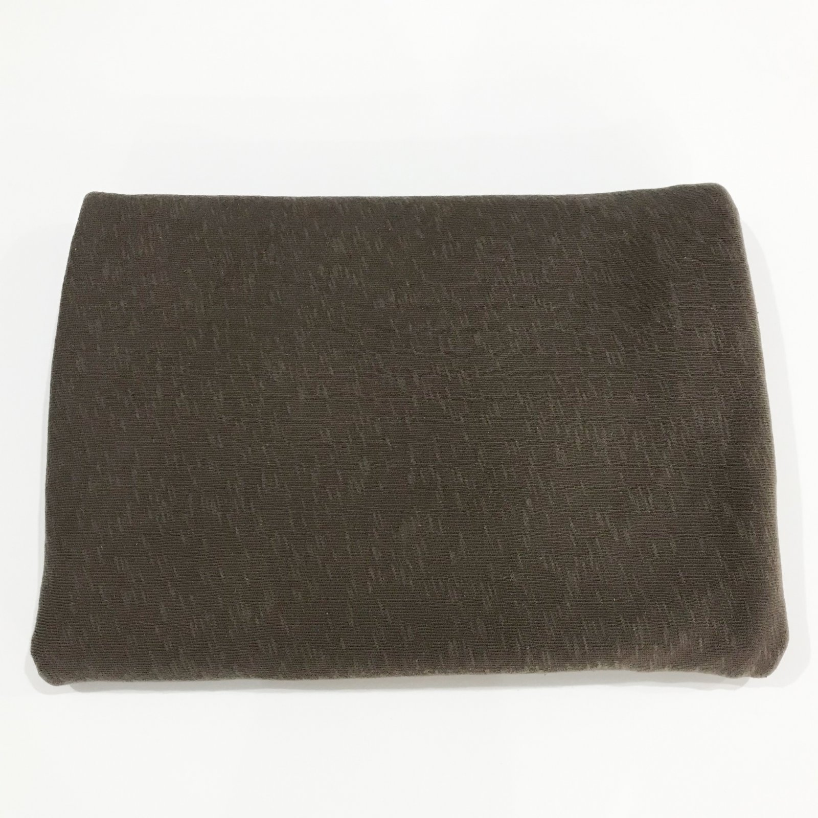 2 1/2 yards - Cotton Slub Sweater Knit - Milk Chocolate