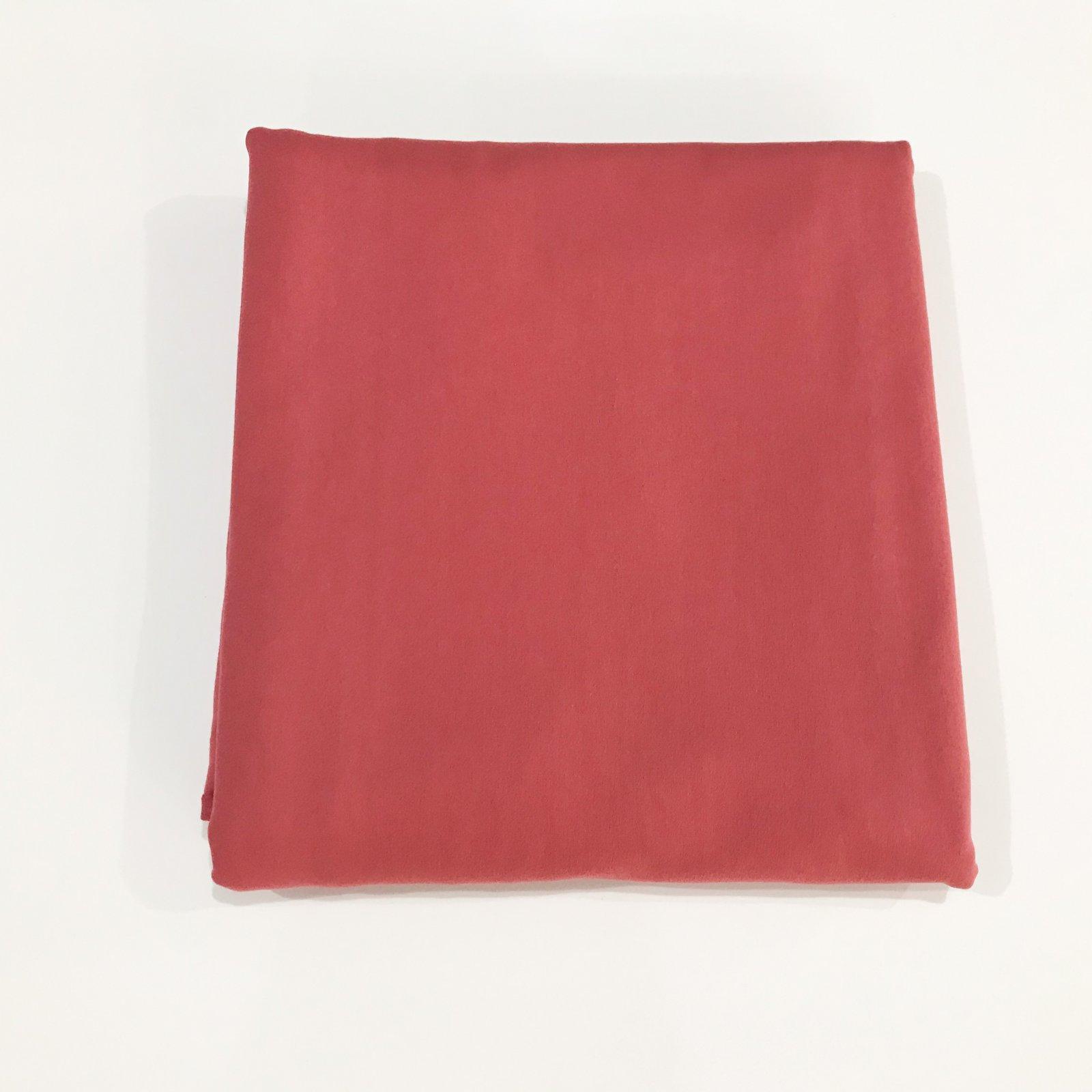 1 5/8 Yard - Cotton - OEKO TEX Certified - Perla Knit - Wild Rose