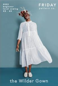 Friday Pattern Co. - The Wilder Gown