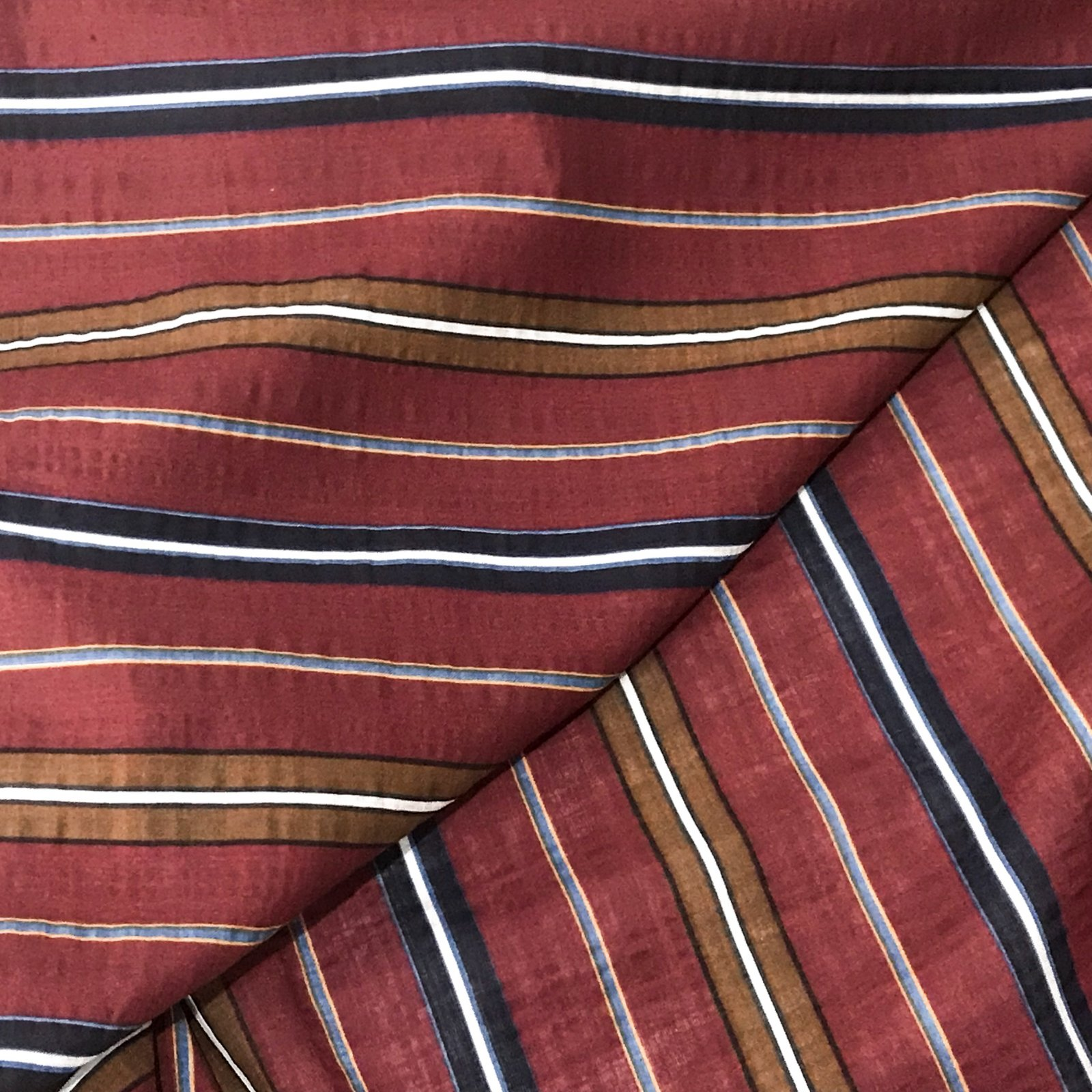 Verona Voile - Red Stripes
