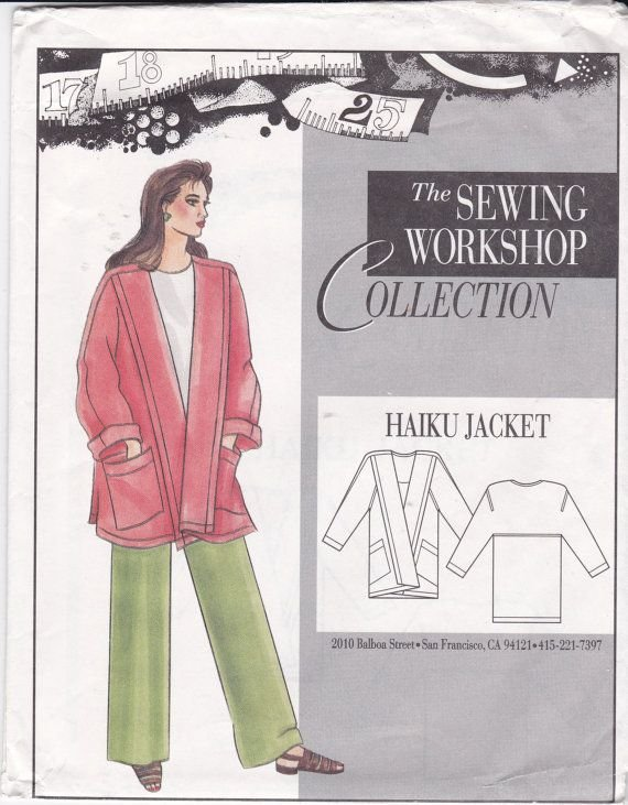 Sewing Workshop Collection Haiku Jacket