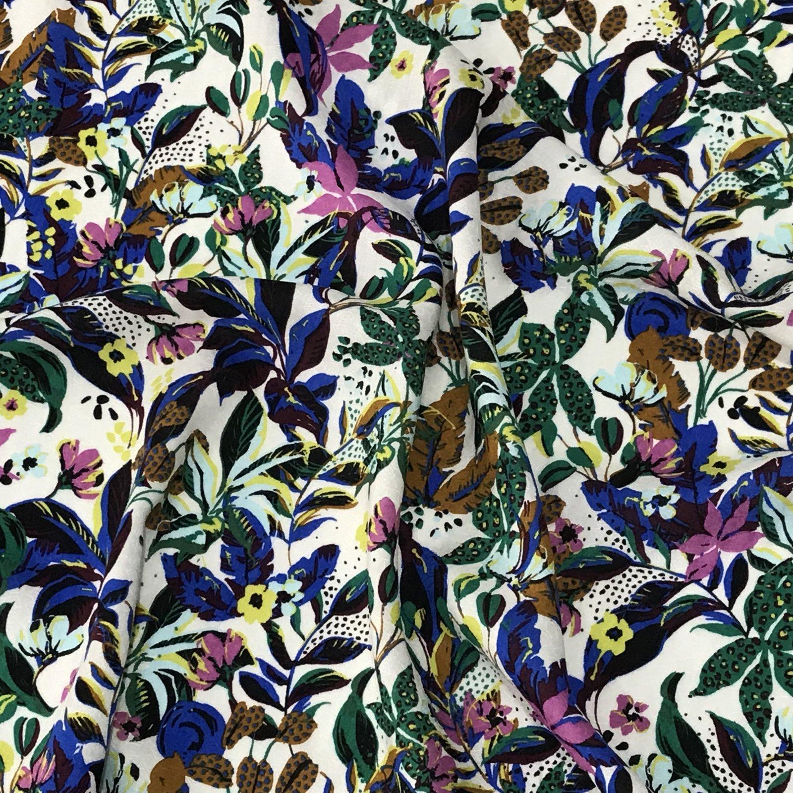Viscose - Garden Floral