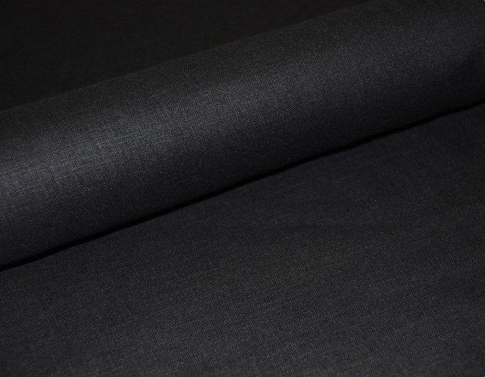Linen - 100% - Black
