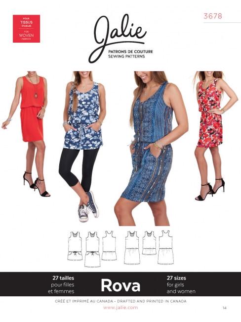 Jalie - Rova Blouson Tank Dress and Tunic